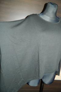 Luźna asymetryczna bluzka roz M...