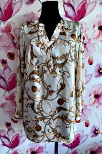 f&f bluzka elegancka modny ciekawy wzór nowa hit 40...