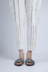 Nowe spodnie indyjskie 36 S 38 M białe wzór salwar pajama cygar...