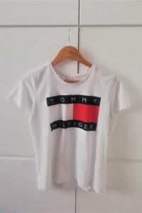 Biała koszulka Tommy Hilfiger...