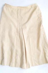 piaskowa spódnica wełna