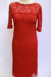 Sukienka Ciążowa Mamalicious Czerwona Koronkowa S 36