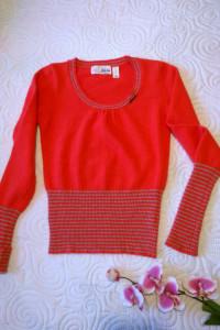 sweterek z angory S M...