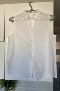 Mango koszula biała bez rękawów...