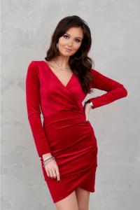 sukienka welurowa brokat 34 36 38 40 42 44 46 kod 318...