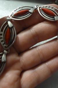 bransoletka srebrna howit i cyrkonie