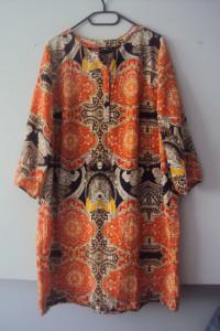 sukienka w kolorach jesieni...
