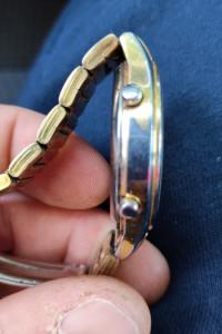 Orginalny Zegarek Seiko pozłacany