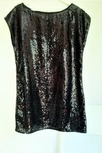 Cekinowa krótka sukienka 42 Gegrge