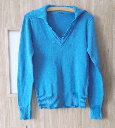Swetry niebieski sweter S