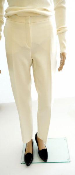 Spodnie Luisa Spagnoli nowe oryg spodnie wełna ecru kant