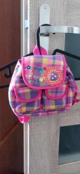 Plecaki plecaczek dziewczęcy w pięknych kolorach