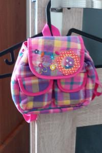 plecaczek dziewczęcy w pięknych kolorach