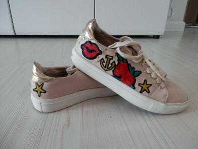 Sportowe Buty Sportowe Trampki Tenisówki Sneakersy Niskie Klasyczne Dorothy Perkins 37