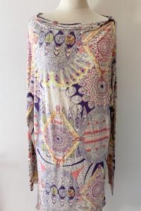 Sukienka Wzory Ciążowa M L 38 40 Mamalicious Brzuszek Boho