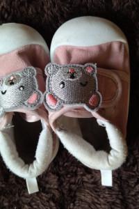 buciki dla dziewczynki...