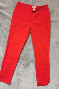 Czerwone spodnie r 34...
