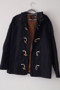 H&M Granatowa materiałowa kurtka 54...