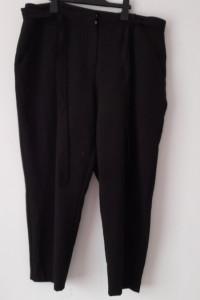 New Look Czarne eleganckie spodnie cygaretki 46...