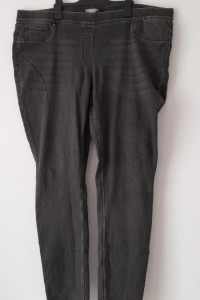 H&M Szare spodnie tregginsy rurki 54...
