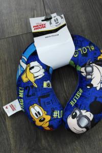 Poduszka zagłówek podróżny Mickey Mouse