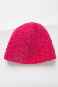 ciepła czapka czerwona