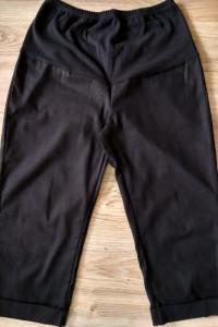 Spodnie ciążowe rybaczki czarne rozmiar 40...