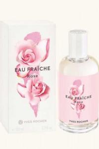 Yves Rocher Eau Fraiche Rose 100ml Nowa folia...
