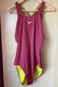 Speedo kostium kąpielowy jednoczęściowy różowy