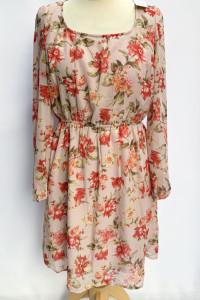 Sukienka NOWA Kwiaty Tom&Rose M 38 Elegancka...