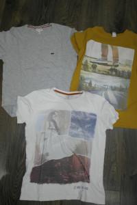 3 szt tshirt chłopięce Lindex Lacosta 156 164