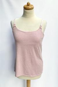 Bluzka H&M Mama Koszulka Do Karmienia Różowa M 38