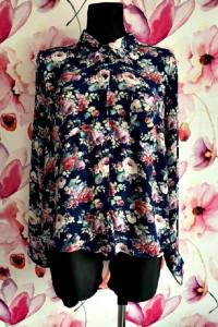 new look koszula modny wzór kwiaty floral nowa hit 44