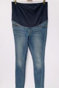 Spodnie H&M Mama Ciążowe L 40 Supr Skinny Rurki