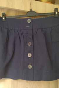 dzinsowa spodnica damska