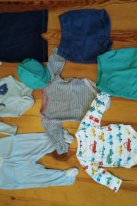 Pakiet ubrań dla chłopczyka 3
