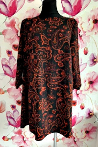 primark sukienka modny wzór ornament jak nowa hit 44...