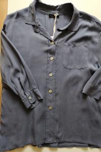 Koszula oversize niebieska