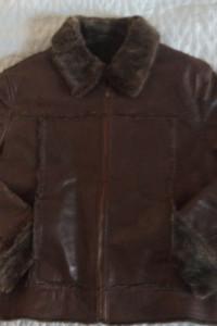 kurtka skórzana zimowa
