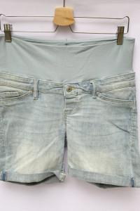 Spodenki Ciążowe Jeansowe H&M Mama M 38 Dzinsowe Shorts