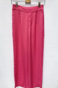 Spodnie Proste Nogawki Różowe Fuksja Bik Bok S 36...