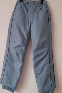 Jasnoniebieskie damskie spodnie narciarskie 38...