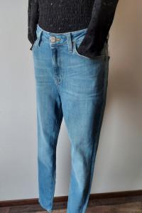 Spodnie jeans LEE Scarlett wysoki stan Rurki rozmiar W30 L35 OU...