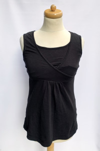 Bluzka Koszulka Czarna H&M Mama S 36 Do Karmienia