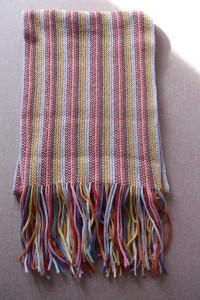 Kolorowy szal