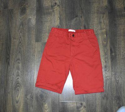 Spodnie i spodenki Czerwone spodenki krótkie chłopięce Zara 164