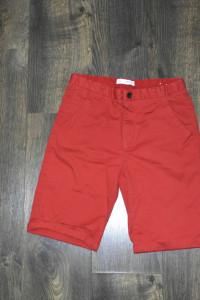 Czerwone spodenki krótkie chłopięce Zara 164