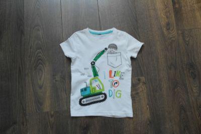Bluzki Bluzeczka biała z aplikacją 92