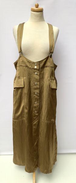 Suknie i sukienki Ogrodniczki Sukienka NOWA H&M 5XL 50 Khaki Militarna