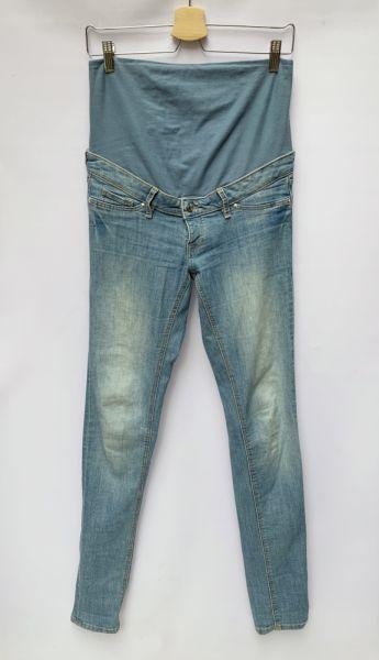 Spodnie Spodnie Ciążowe H&M Mama Rurki Dzinsy Skinny M 38